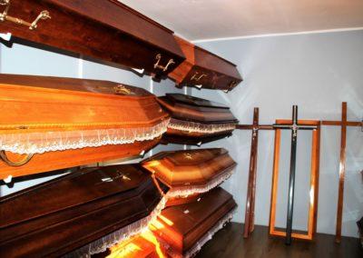 trumny drewniane