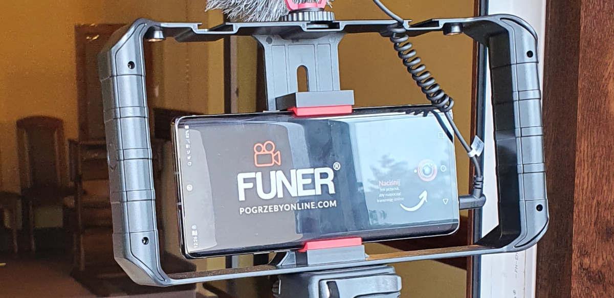 transmisje z pogrzebu